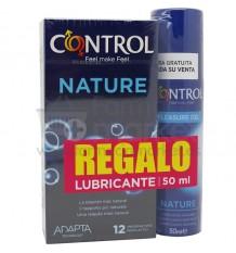 Preservativos Control Nature 12 unidades Regalo Lubricante