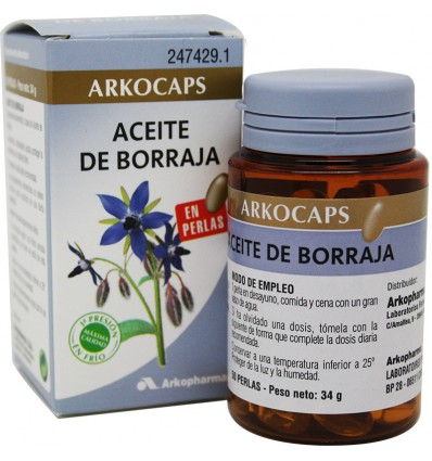 Arkocapsulas Aceite de Borraja 50 Capsulas