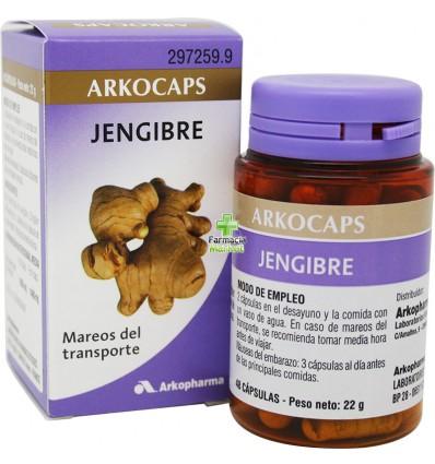 Arkocapsulas Jengibre 48 Arkocaps