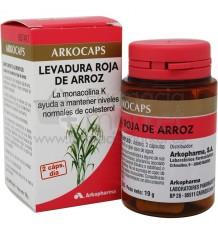Arkocapsulas Levadura Roja Arroz 45 Arkocaps