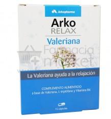 Arkorelax Valeriana Triptofano 15 Capsulas