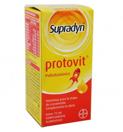 Supradyn Protovit Gotas 15 ml
