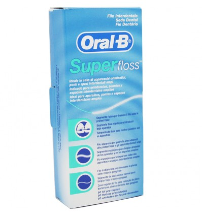 Oral B Super Floss 50 Metros