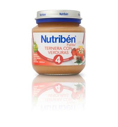Nutriben Potito Ternera con Verduras 130 g