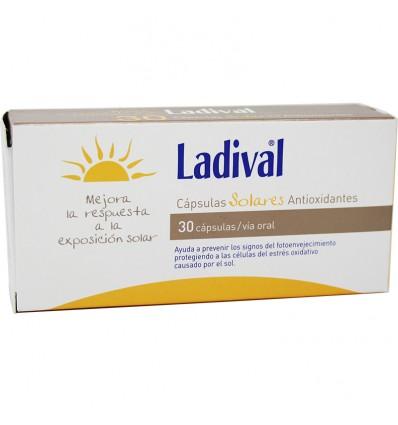 Ladival 30 Capsulas Solares Antioxidantes