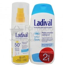 Ladival 50 Spray 150 ml After Sun Regalo