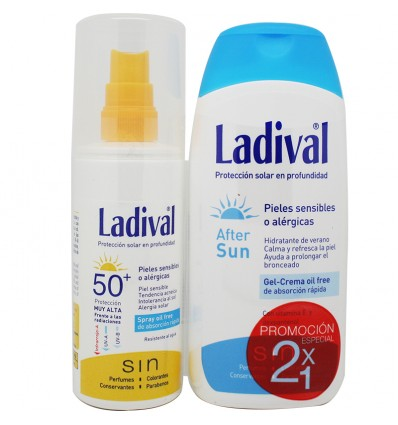 Ladival Protector solar 50 Spray After Sun Regalo