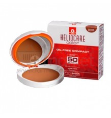 Heliocare Compacto Oil free Spf 50 Brown
