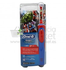 Oral B Cepillo Infantil Electrico Vengadores