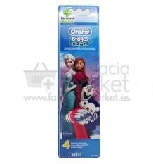 Oral B Recambio Frozen 4 Unidades