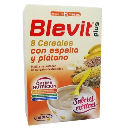 comprar Blevit plus 8 Cereales con espelta y platano 300 g