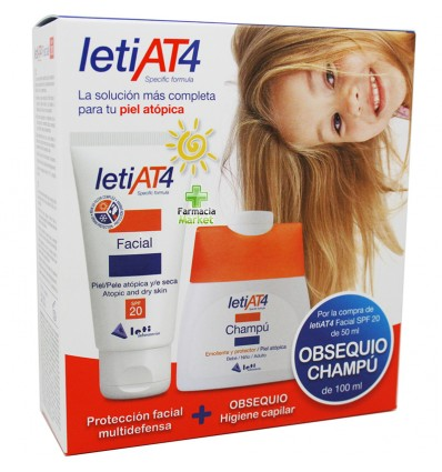 Leti At-4 Crema facial SPF 20 50 ml Promocion