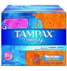 Tampax Compak Superplus 22 Unidades