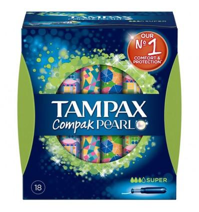 Tampax Compak Pearl Super 18 Un