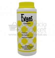 Evans Polvos de Talco 125 gramos
