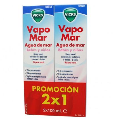 Vicks Vapomar Bebe Isotonico 100 ml Duplo Ahorro