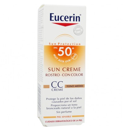 Eucerin Sun Solar CC Crema Tono medio 50 ml oferta