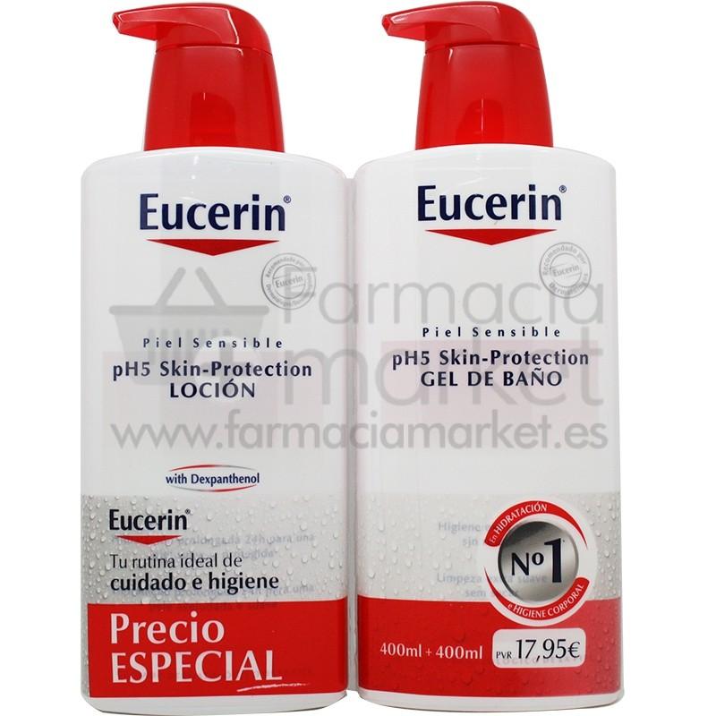 Eucerin locion gel de ba o 400 ml pack - Eucerin gel de bano ...