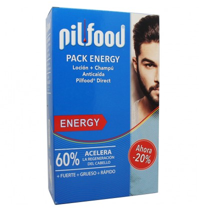 Pilfood Pack Energy Locion + Champu