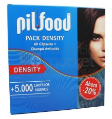 Pilfood Density Capsulas Champu Pack