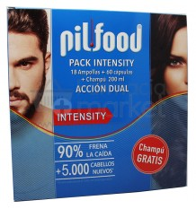 Pilfood Intensity Ampollas Capsulas Champu Pack