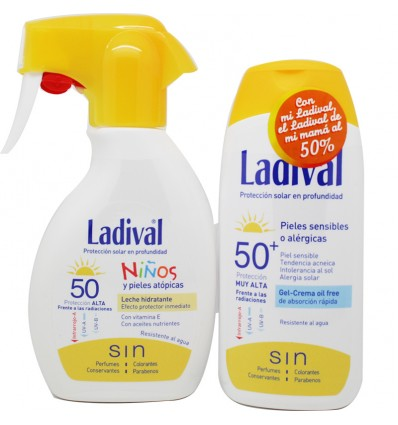 Ladival Niños Spray Crema Adulto Pack Ahorro
