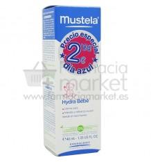 Mustela Bebe Hydra Bebe cara 40ml Promocion Dias azules