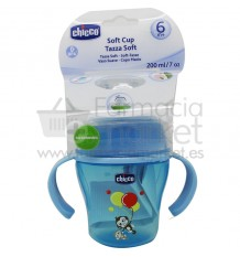 Chicco Taza soft 6 meses 200 ml