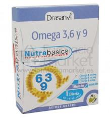Nutrabasics Omega 3 6 9 24 perlas