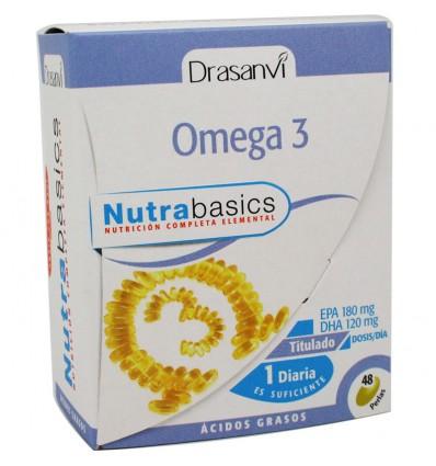 Nutrabasics omega 3 1000 mg 48 perlas