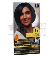 Th Pharma Vitaliacolor Tinte 11 Negro Azul