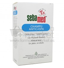 Sebamed Champu Anticaspa Grasa 200 ml