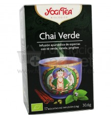 Yogi Tea Chai Verde 17 Bolsitas