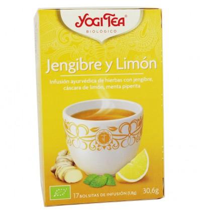 Yogi Tea Jengibre Limon 17 Bolsitas