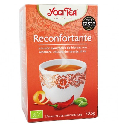 Yogi Tea Reconfontarte 17 Bolsitas