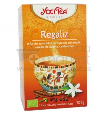 Yogi Tea Regaliz 17 Bolsitas