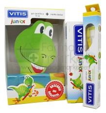 Vitis Junior Pack Cepillo Gel Bufanda