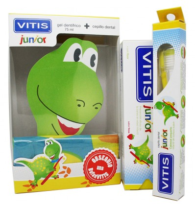 Vitis Junior Pack Cepillo Gel Bufanda