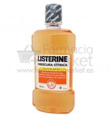 Listerine Frescor Citrico Enjuague 500 ml