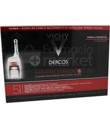 Dercos Aminexil Clinical 5 Hombre 21 Ampollas