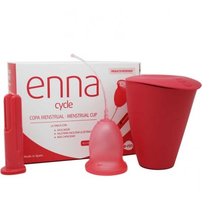 Enna Cycle Copa Menstrual S Aplicador 2 Unidades