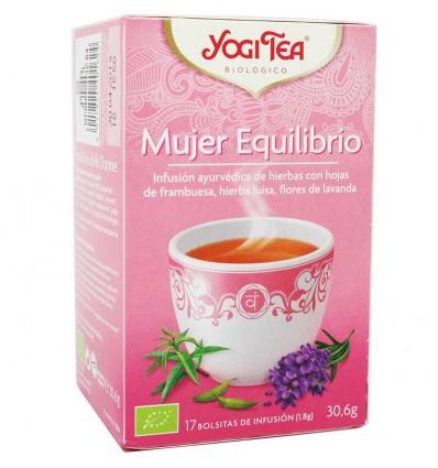 Yogi Tea Mujer Equilibrio 17 Bolsitas