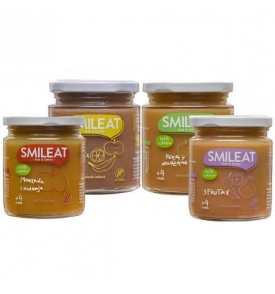 Smileat Potito Frutas Pack 4 Unidades