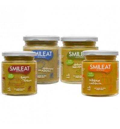 Smileat Potito Verduras Pack 4 Unidades