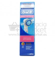 Oral B Recambio Sensitive 3 Unidades