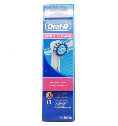 Oral B Recambio Sensitive 3 Unidades