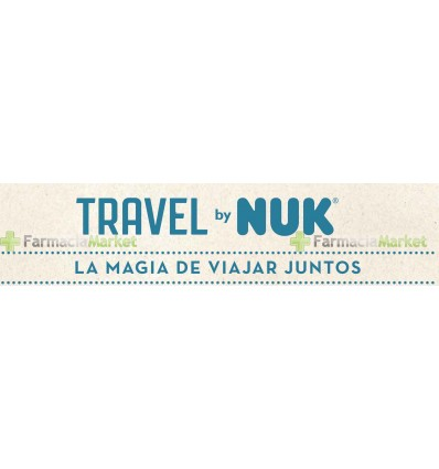 Nuk Biberon Silicona Travel 1M Niño 300ml