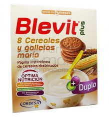 Blevit Plus Duplo 8 Cereales Galleta Maria 600 g