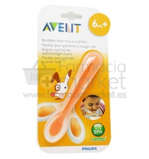Avent Cuchara Entrenamiento Flexible