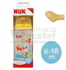 Nuk Biberon Fantasy Latex 2L 300 ml